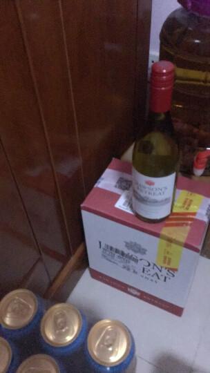 奔富(Penfolds)洛神山庄 澳洲原装原瓶 进口干红葡萄酒 整箱装 赛美容长相思 750ml*6支 晒单图