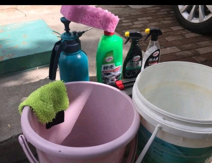 龟牌(Turtle Wax)(买一送三,满199-100)2L大桶洗车液 硬壳高泡洗车液洗车水蜡汽车清洁剂泡沫清洗剂 晒单图