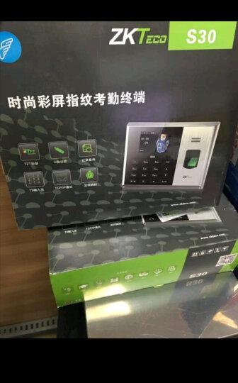 中控智慧(ZKTeco) S30 指纹考勤机 网络型指纹打卡机 晒单图