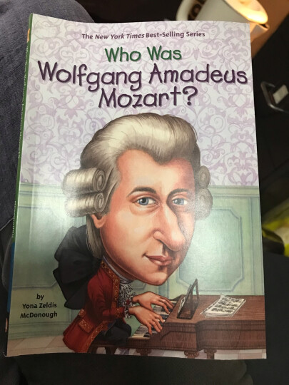 WHO WAS WOLFGANG AMADEUS MOZAR 进口故事书 晒单图