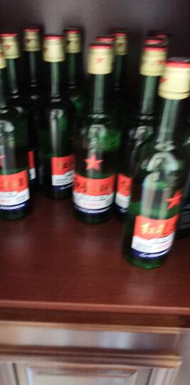 红星 白酒 小绿二锅头 清香型 46度 100ml*24瓶 整箱装(新老包装随机发货) 晒单图