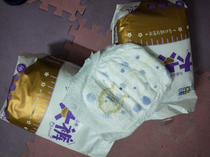 婴舒宝(Insoftb) 大大裤  婴儿超薄拉拉裤  男女宝宝学步裤 XXXXL16片*2包 晒单图