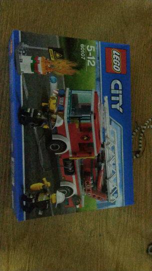 乐高(LEGO)积木 城市组系列City云梯消防车5-12岁 60107 儿童玩具 男孩女孩生日礼物 晒单图