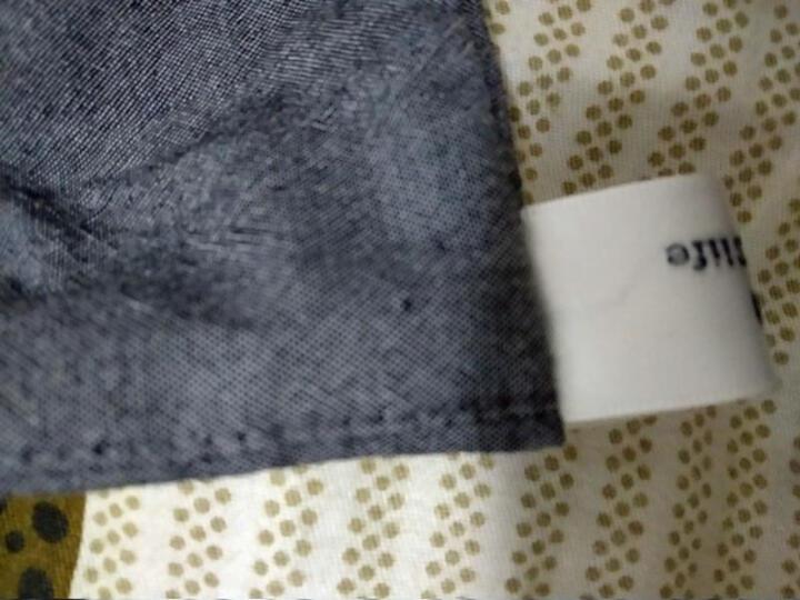 丝域 水洗棉四件套 床单床笠被套床罩纯色简约无印家纺民宿酒店定制 深灰色 1.5米床(床单款) 晒单图