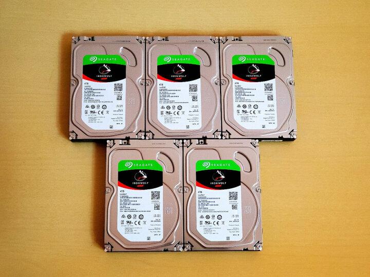 希捷(Seagate)8TB 256MB 7200RPM 网络存储(NAS)硬盘 SATA接口 希捷酷狼IronWolf系列(ST8000VN0022) 晒单图