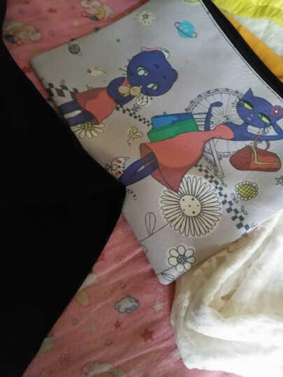 比瘦 2件装女式内裤性感产后薄款高腰塑身裤收小腹小肚子神器 美体束腰束缚提臀收腹裤 黑色两件装 155/95(L) 晒单图
