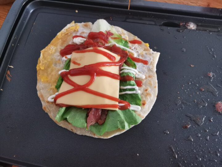 百吉福(MILKANA) 减脂芝士片 166g/10片装(吐司 汉堡 早餐 烘焙) 晒单图
