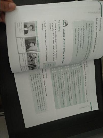 高等学校英语拓展系列教程:商务英语视听说(附光盘1张) 晒单图