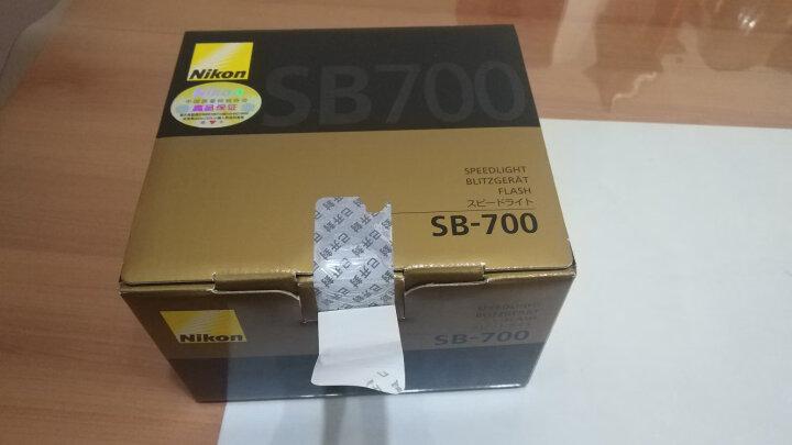 尼康(Nikon)原装/原厂SB-700闪光灯 适用于尼康单反相机 SB-700闪光灯+充电套装(一充四电) 晒单图