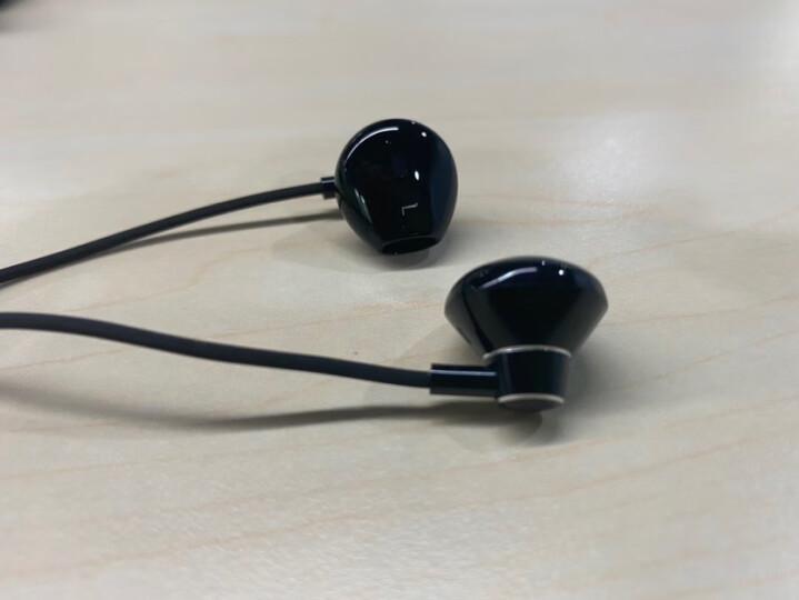 图拉斯(TORRAS) 图拉斯耳机有线入耳式华为苹果耳机小米vivo三星op脑 【亮光黑】金属腔体丨送皮质收纳袋。 晒单图
