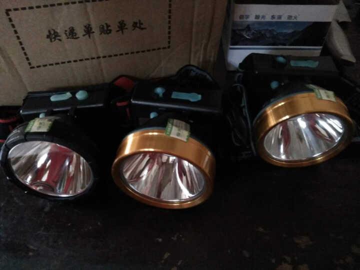 翰光 强光头灯LED远射1000M户外可充电头戴式大功率锂电手电筒夜钓鱼防水矿灯 4T-68黄光6000(6-10小时) 晒单图