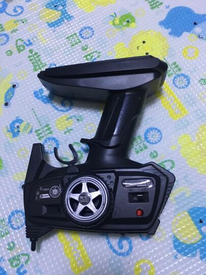美致模型(MZ) 遥控车 1:14 大脚攀爬车 充电遥控越野汽车四驱大脚车模型儿童男孩玩具 亮橙色 晒单图