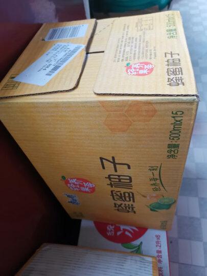 天喔茶庄 饮料 蜂蜜柚子茶500ml*15瓶 整箱装 晒单图
