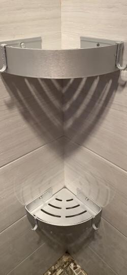卡贝(cobbe)毛巾架免打孔浴室卫生间置物架太空铝卫浴五金挂件套装 经典六件套(加大厕纸盒) 套装 晒单图