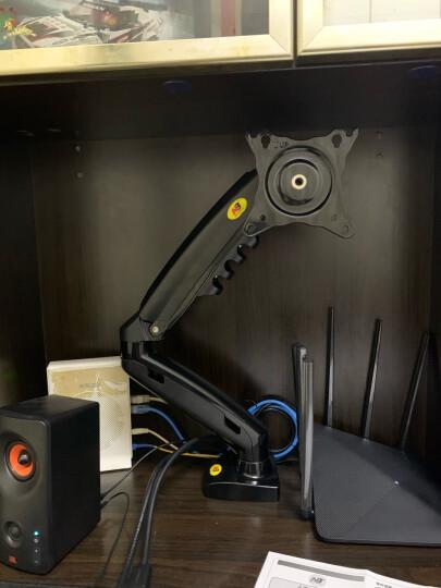 NB F80 显示器支架 电脑支架 桌面升降显示器支架臂 旋转电脑架 显示器底座架显示屏支架17-30英寸 晒单图