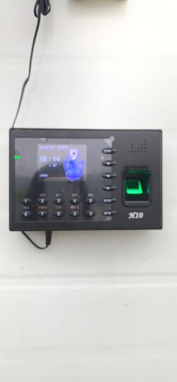 ZKTeco/熵基科技U100指纹考勤机 专业型指纹打卡机 TCP/IP传输 晒单图