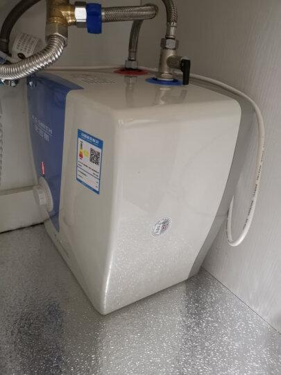 史密斯(A.O.SMITH)10升小厨宝 电热水器 2KW速热节能保温 金圭内胆 台盆下方安装(上出水) EWH-10B2 晒单图