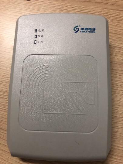 华视电子 华视CVR-100UC-ZK 二代身份证读卡器 三代身份证阅读器 身份证识别仪 信息采集器 CVR-100UC(ZK) 自营仓发货 晒单图
