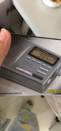 德生(Tecsun)DR-920C 收音机 全波段 老人便携收音机 半导体 高考英语四六级校园广播 数显(铁灰) 晒单图