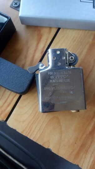 之宝(Zippo)打火机 1941复刻黑裂漆28582 煤油防风火机 晒单图
