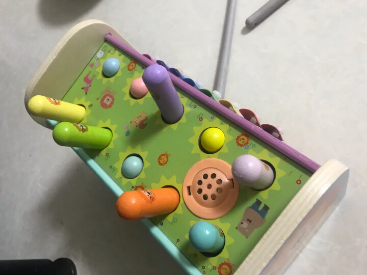 铭塔启蒙大串珠 串珠绕珠儿童益智玩具 婴幼儿宝宝早教启蒙盒装 晒单图