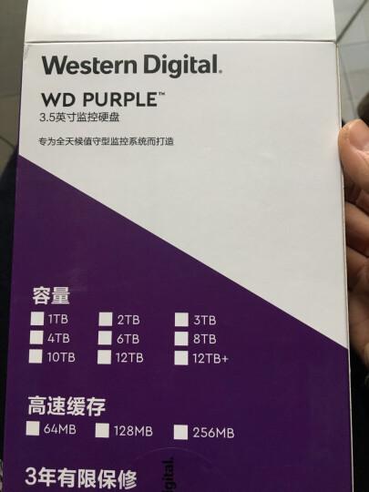 西部数据(WD)紫盘 2TB SATA6Gb/s 64M 监控硬盘(WD20EJRX) 晒单图