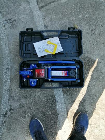 BIG RED蓝色卧式液压千斤顶2吨 汽车工具小车轿车面包车用换胎工具2T(塑盒款) 晒单图