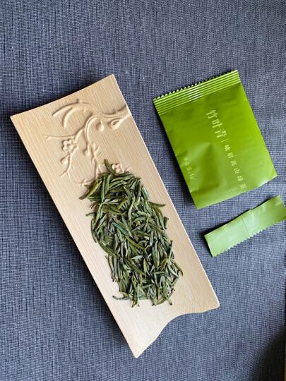 竹叶青2020春茶特级(品味)峨眉高山绿自用袋装100g/袋 晒单图
