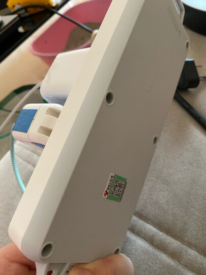公牛(BULL)新国标插座 插线板/插排/排插/接线板/拖线板 GN-403  8位总控全长5米 晒单图