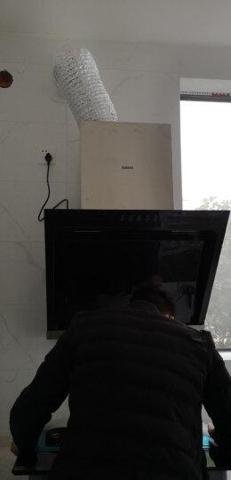 美的(Midea)油烟机 17爆炒大吸力 侧吸抽油烟机 立体环吸 家用吸油烟机 DJ319 晒单图
