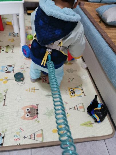 然雅(ONYA)防走失手环儿童防走失带牵引绳小孩防丢失手环溜娃防丢绳 F010AB-1.5米蓝色 晒单图