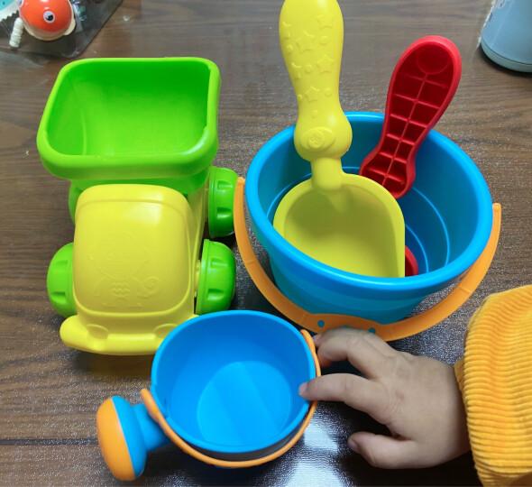 费雪fisher-price 沙滩玩具 玩沙玩水玩具模型7件套 宝宝洗澡挖沙子铲子水桶水壶车 晒单图