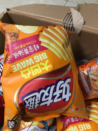 Orion 好丽友 休闲零食 薯片 好友趣大凹凸蜂蜜黄油味125g/袋 晒单图