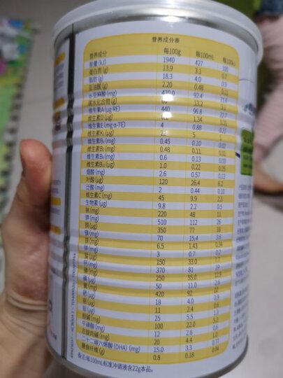 【瑞士进口】雀巢小佳膳 儿童幼儿全营养配方粉400g 蛋白粉维生素奶粉(新老包装随机发货) 晒单图