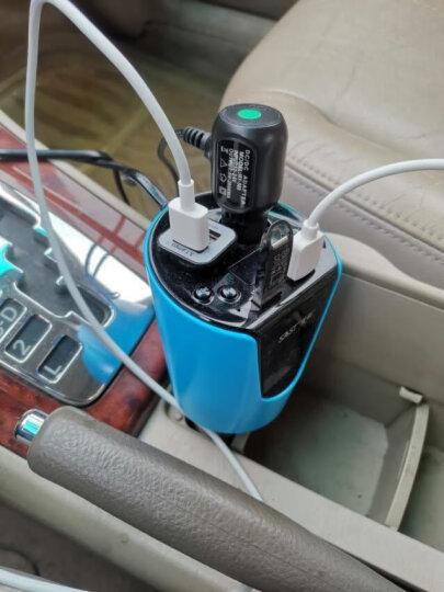 先科(SAST)车载充电器 车充点烟器一拖二 T01S黑色 车载mp3蓝牙免提电话 晒单图