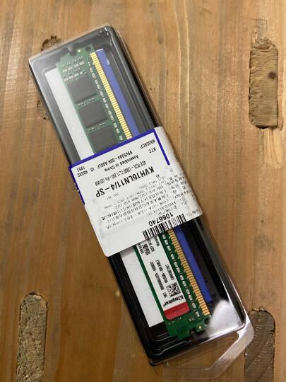 金士顿(Kingston) DDR3 1600 4GB 台式机内存条 低电压版 晒单图
