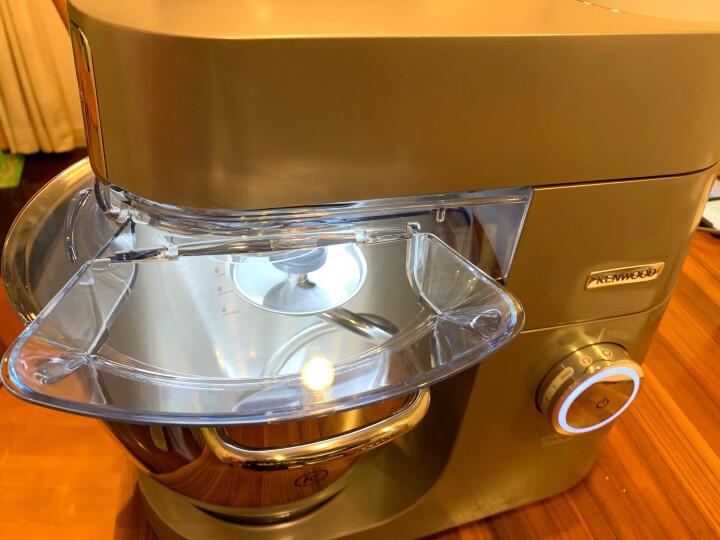 凯伍德(KENWOOD)厨师机KVL80商用多功能和面机 揉面机厨房家用打蛋器打发奶油活面搅拌机1700W功率 晒单图