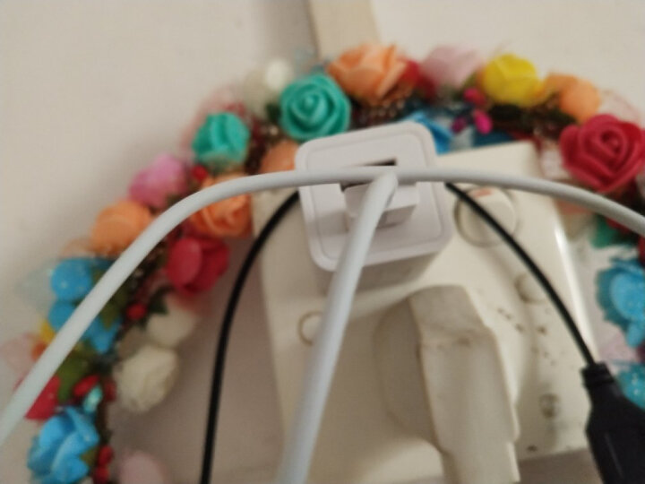 毕亚兹 苹果充电器套装 双口充电插头+镀金苹果数据线1.2米 支持iPhone11Pro/Xs Max/XR/X/6s/7/8P 50210A 晒单图