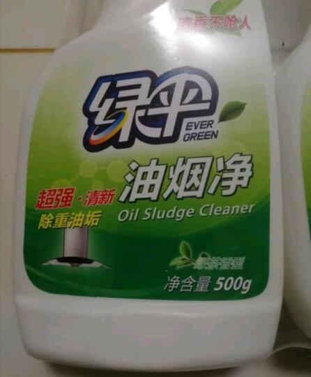 绿伞厨房清洁油烟净 橄榄香型500g*2瓶 去油污清洁剂 油烟机清洗油污净 晒单图