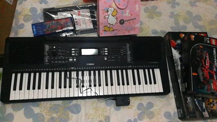 雅马哈(YAMAHA) KB90 成人电子琴力度键儿童教学考级61键 晒单图