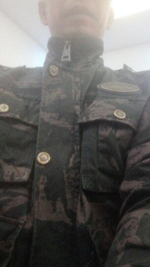 盾郎迷彩服男军装纯棉黑鹰作训服套装 军品军迷学生军训服特种兵作战服耐磨加厚工作服 XS/155 晒单图
