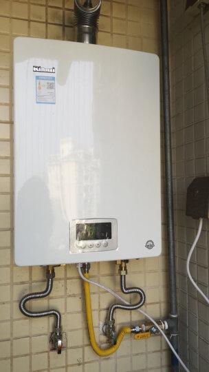 林内(Rinnai)13升 零温差感恒温 防冻 燃气热水器 RUS-13QD03(天然气)JSQ26-D03家电 晒单图