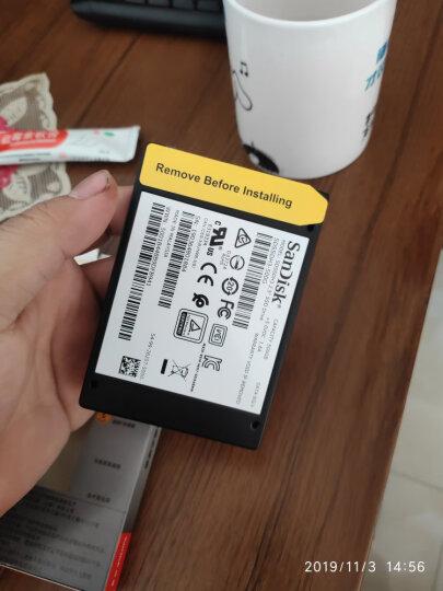 闪迪(SanDisk)500GB SSD固态硬盘 SATA3.0接口 至尊3D进阶版-更高速读写|西部数据公司荣誉出品 晒单图