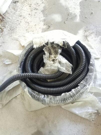 颂余国标包塑金属软管 蛇皮管 穿线管电线套管 电缆电线保护管 穿线软管监控线保护软管 内径16mm(36米一卷) 晒单图