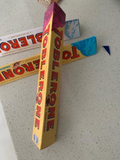 瑞士进口三角Toblerone牛奶巧克力含蜂蜜及巴旦木糖果儿童休闲零食礼物100g/条 晒单图