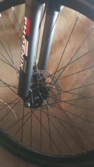 凤凰(Phoenix) 凤凰自行车山地车21/24/27速26寸变速公路单车学生成人男女 24速(24寸)黑红色-顶配升级版 晒单图