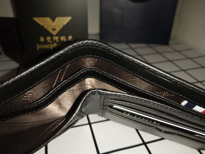 皮尔卡丹男士钱包男超薄短款西装礼品钱夹横款驾驶证套软 八戒(经典款) 晒单图
