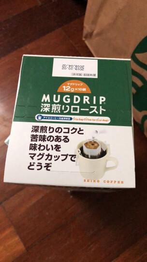 日本进口 赛客SEIKO 哥伦比亚(波邦铁比卡)挂耳咖啡 滴滤式研磨咖啡粉 100g(10g*10袋) 晒单图
