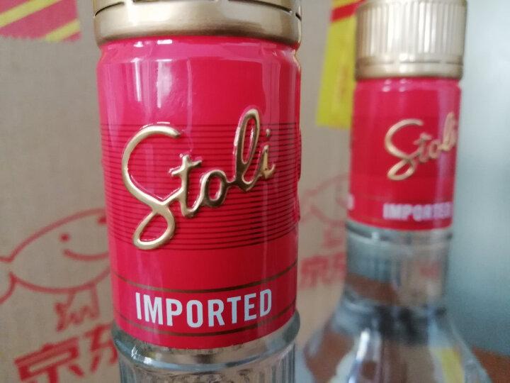 苏连红(Stoli) 洋酒 拉脱维亚 金牌伏特加750ml 晒单图