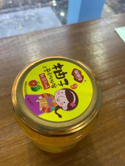 福事多蜂蜜柚子茶600g 韩国风味冲饮果汁水果茶饮料 晒单图